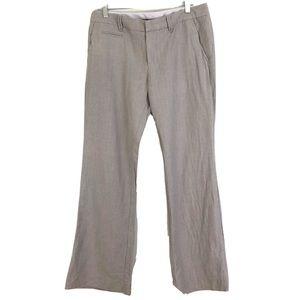 GAP Hip Slung Fit Gray Trouser Pants Sz 6